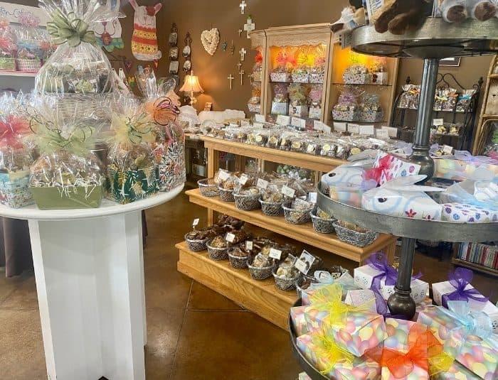 gift sets at Morgan Price Candy Company