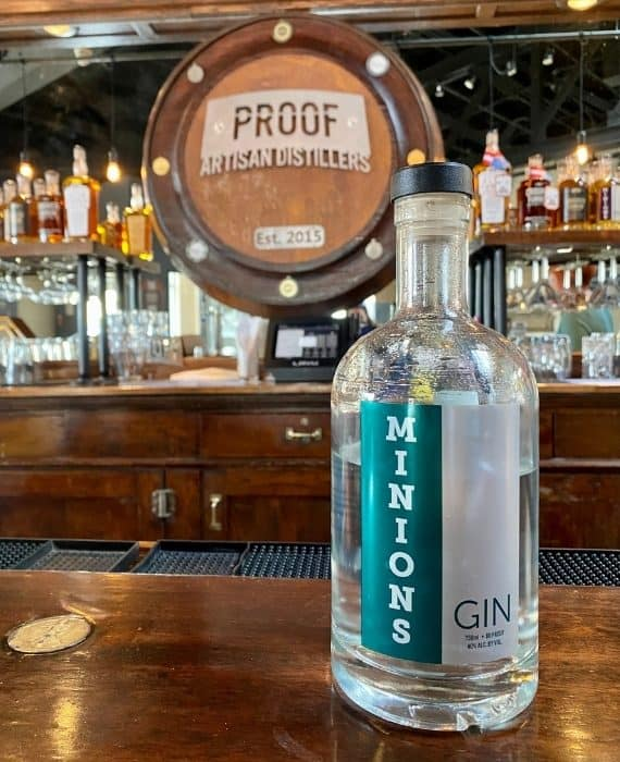 gin at Proof Artisan Distillers
