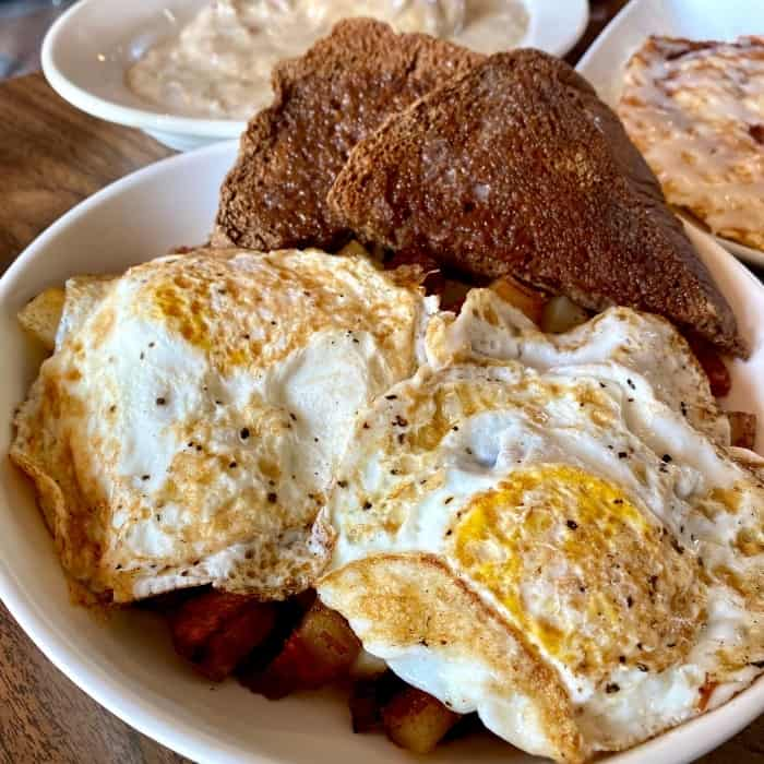 hash at Lunchbox Eatery