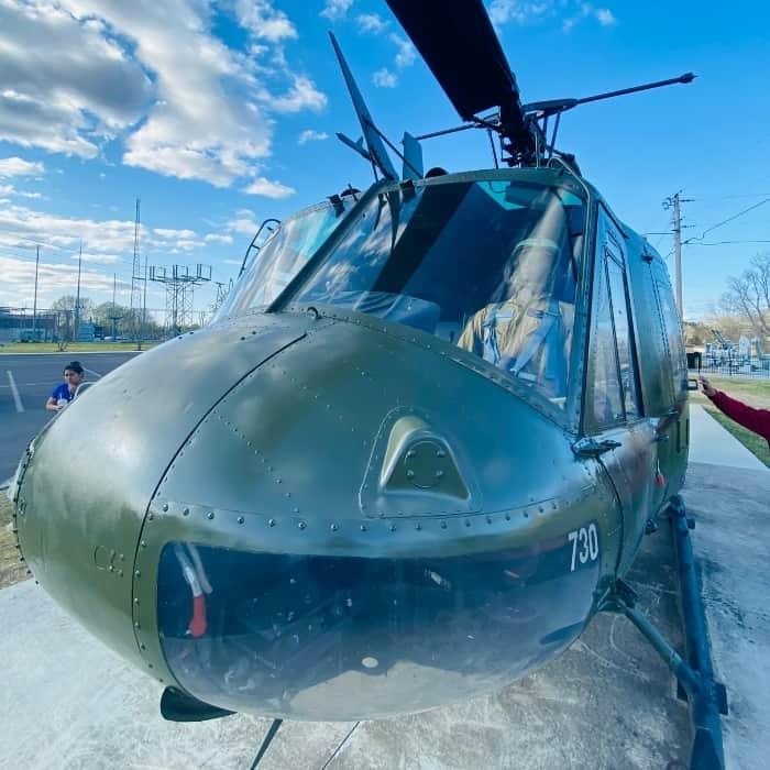 helicopter at Morgan County Veterans Memorial