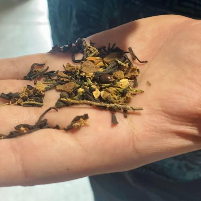 loose leaf tea at Piper and Leaf Tea Co