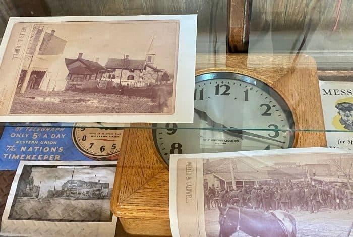 memorabilia at The Historic Depot & Railroad Museum