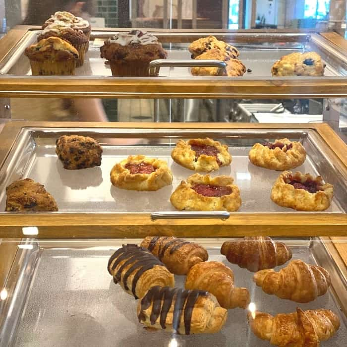 pastries at Rosewild