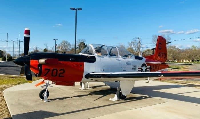 plane at Morgan County Veterans Memorial