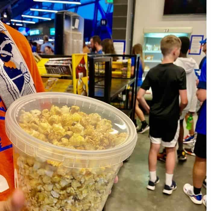 popcorn at TQL Stadium