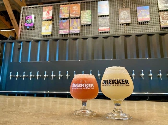 sours at Drekker Brewing Co