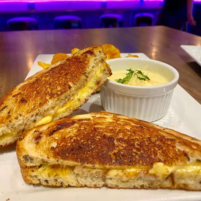 sweet tooth sandwich at Teddy's Eatery and Parlor
