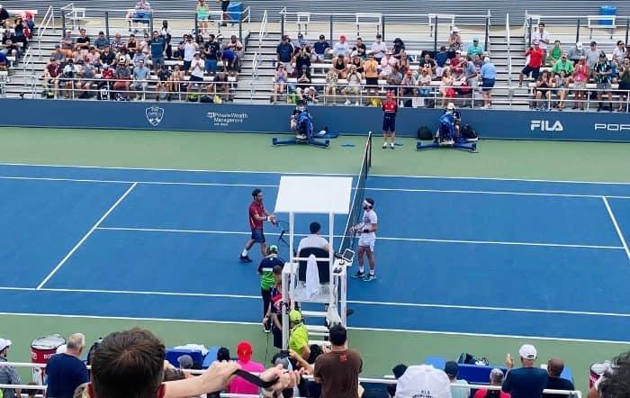 tennis etiquette for spectators