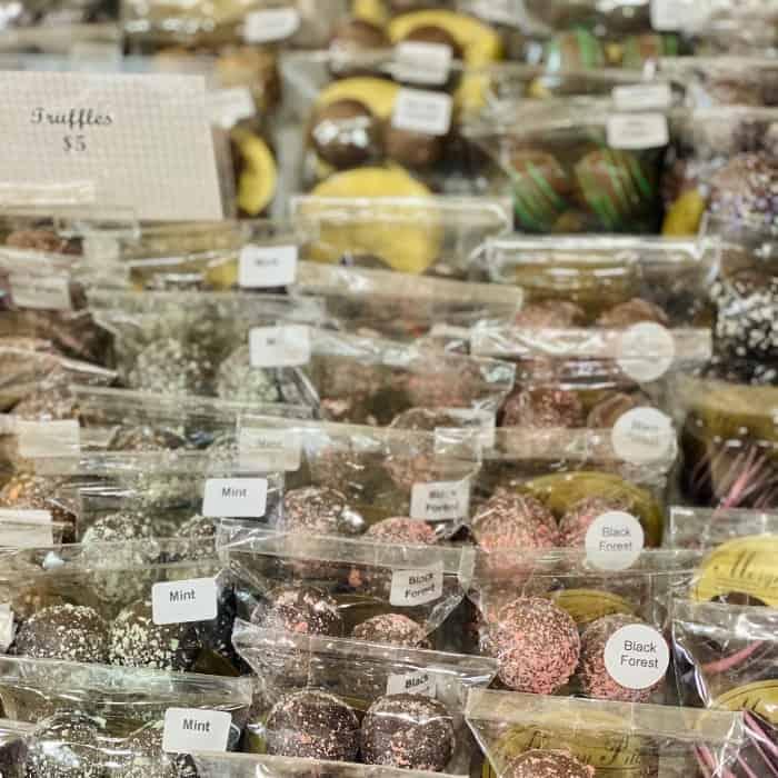 truffles at Morgan Price Candy Company