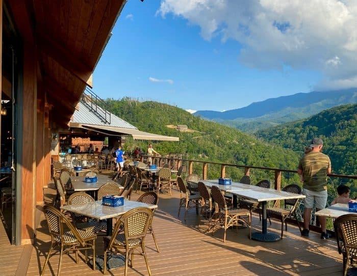 Smokehouse restaurant at Anakeesta