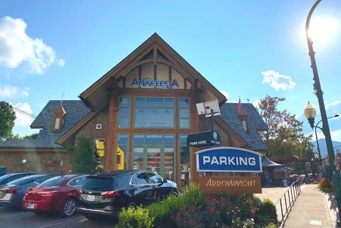 public parking near Anakeesta